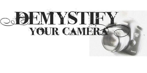 DEMYSTIFY ~ Your Camera GIFT CERTIFICATES