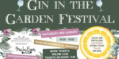 Gin in the Garden Festival tickets