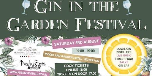 Gin in the Garden Festival