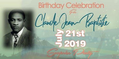 Claude Jean-Baptiste Birthday Celebration tickets