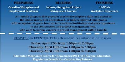Constructing Futures Program Info Sessions