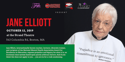Jane Elliott at The Strand Theatre in Boston
