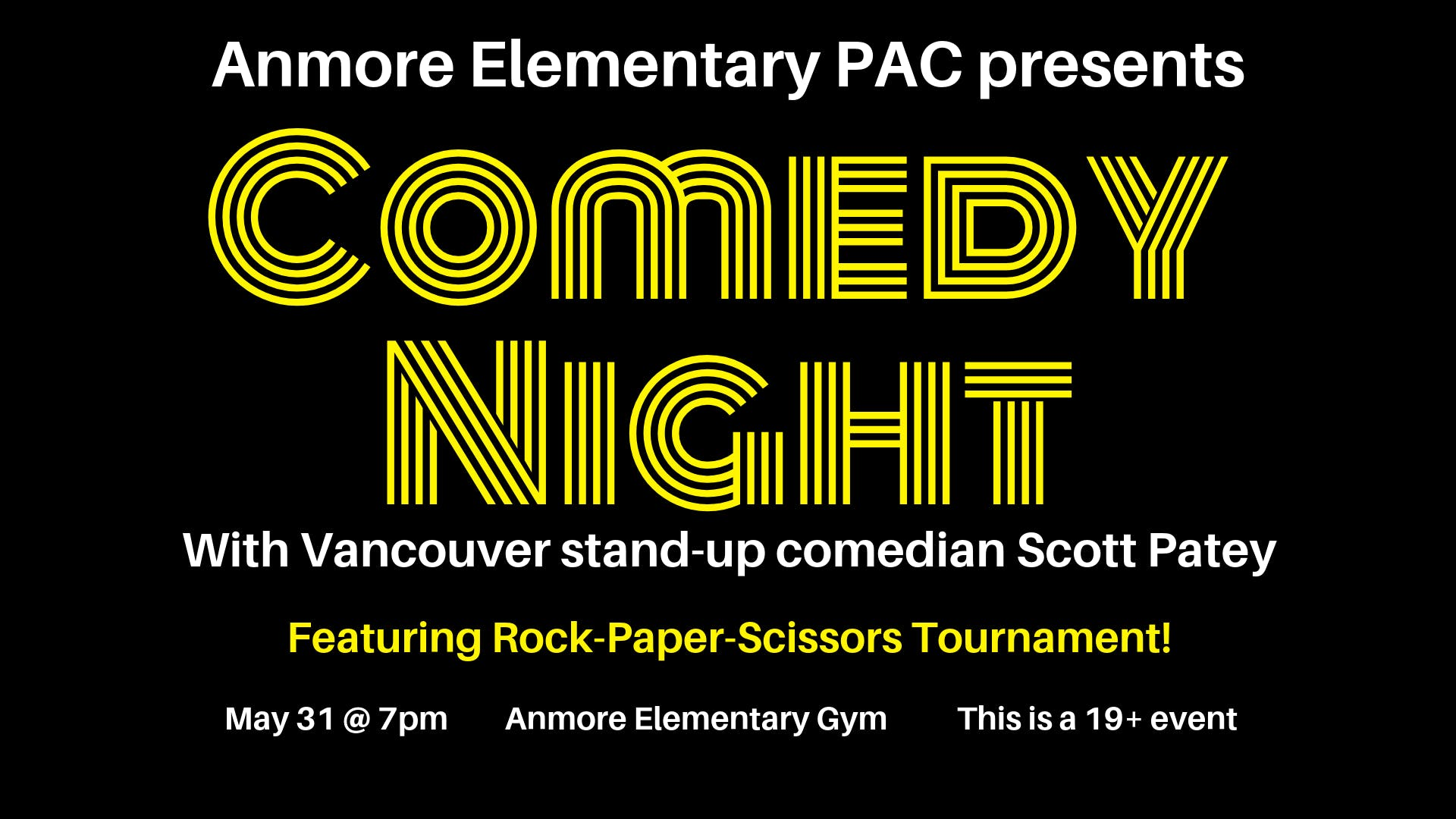 Comedy Night at Anmore Elementary