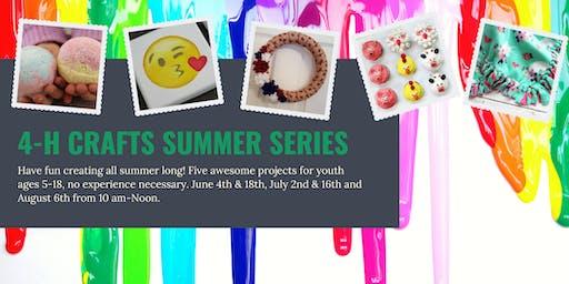 4-H Crafts Summer Series