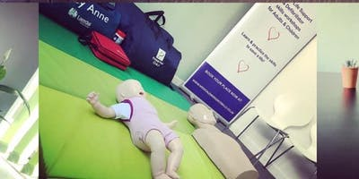 Baby and Child Emergency Basic Life support & AED  workshop