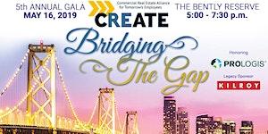 5th Annual CREATE Gala, honoring Prologis