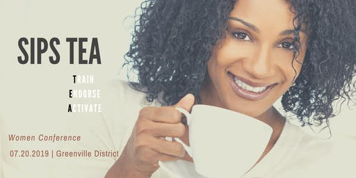 Sips Tea Women Conference