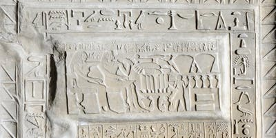 Hieroglyphics Course - Wednesday 1 May to Wednesday 3 July