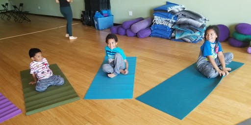 Kids Yoga (ages 9 and under)