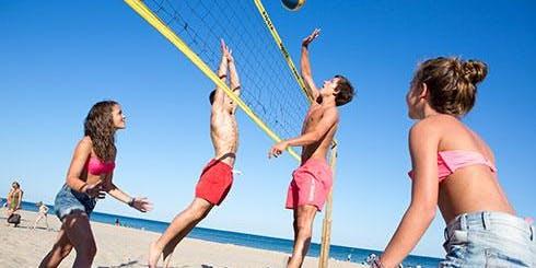 Beach Yoga For Athletes Camp