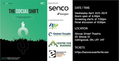 Collingwood - The Social Shift Screening & Panel Discussion - April 24