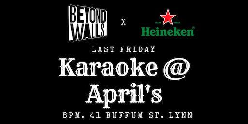Last Friday Karaoke at April's Pub & Grill