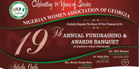 NWAG 19th Annual Fundraising and Awards Banquet Gala tickets