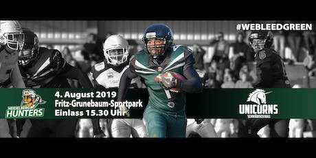 Heidelberg Hunters vs. Schwäbisch Hall Unicorns II Tickets