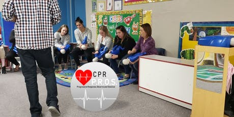 CPR, First Aid & AED Training tickets