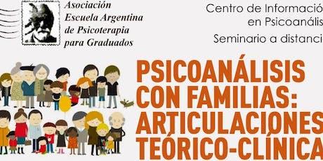 Psicoanálisis con familias: articulaciones teórico-clínicas entradas