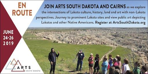 En Route; Lakota Lands & Indian Arts Traveling Workshop