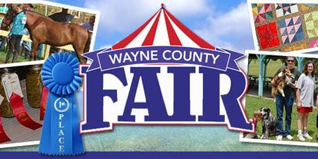 2019 Wayne County Fair Vendor Registration tickets