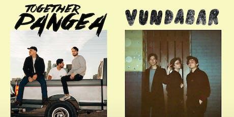Vundabar + together Pangea with Dehd tickets