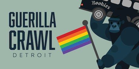 Guerilla Crawl Detroit : Round Four tickets