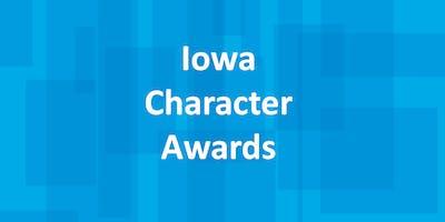 2019 Iowa Character Awards