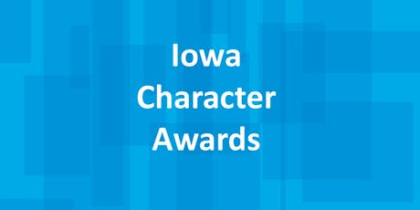 2019 Iowa Character Awards tickets