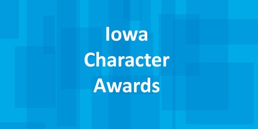2019 Iowa Character Awards