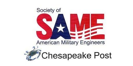SAME Chesapeake Lunch & Tour Event November 21, 2019 tickets