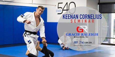 Keenan Cornelius Seminar   Raleigh, NC tickets