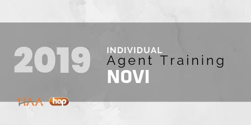 HAP Agent Training with HAA: Individual PM - at NOVI