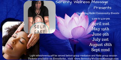 Serenity & Wellness  Reiki Energy Healing Circle