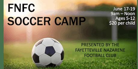 FNFC Soccer Camp tickets