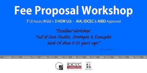 Phoenix Fee Proposal Workshop