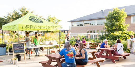 Urban Roots Pizza Farm with Roots for the Home Team & Saint Dinette