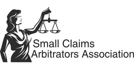 Small Claims Arbitrator Training - July 2019 tickets