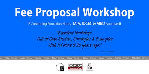 Atlanta Fee Proposal Workshop