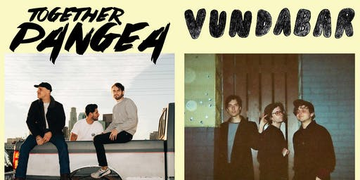 together PANGEA / Vundabar - Summer Tour 2019 @ GAMH   w/ Dehd