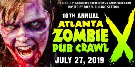 Atlanta ZOMBIE PUB CRAWL (10th Annual) tickets