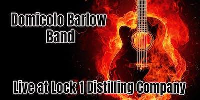 The Domicolo Barlow Band return to Lock 1 Distilling Company
