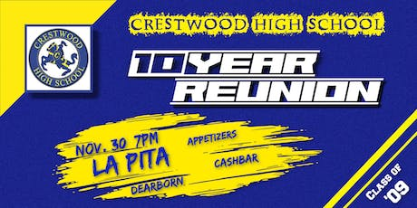 Crestwood 2009 Ten Year Reunion tickets
