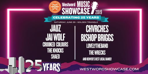 Westword Music Showcase presented by Breckenridge  Brewery