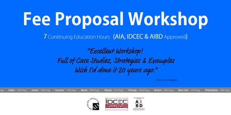 Chicago Fee Proposal Workshop tickets