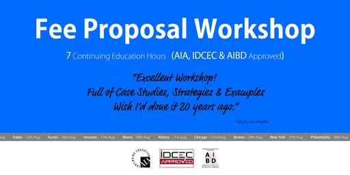 Chicago Fee Proposal Workshop