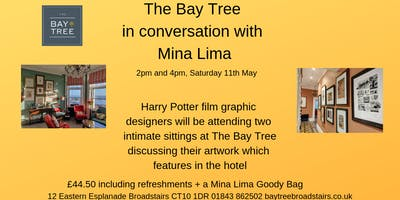 In conversation with MinaLIma at The Bay Tree Broadstairs