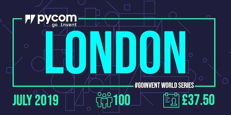 London Pycom #GOINVENT World Series IoT Enterprise Workshop tickets