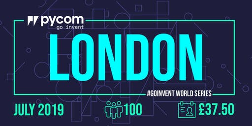 London Pycom #GOINVENT World Series IoT Enterprise Workshop