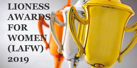 LIONESS AWARDS FOR WOMEN 2019 tickets
