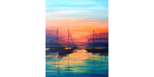 6/23 - Sailboats at Sunset @ Northwest Cellars, Kirkland