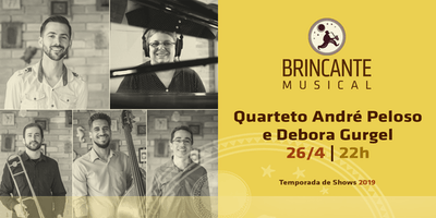 Brincante Musical | Quarteto André Peloso