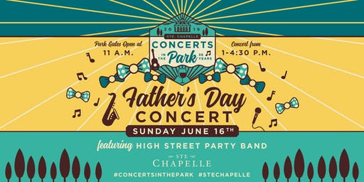 Father's Day Concert Featuring High Street Party Band